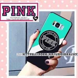📱 PINK Logo Samsung Galaxy S8 Plus Phone Case